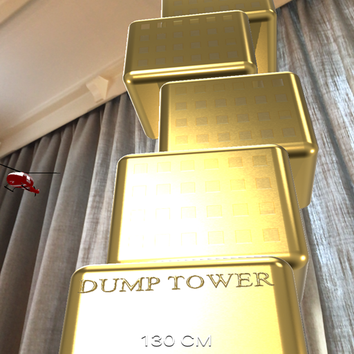 AR screenshot DumpTower